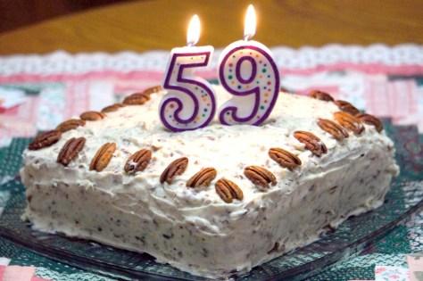 59 cream cake
