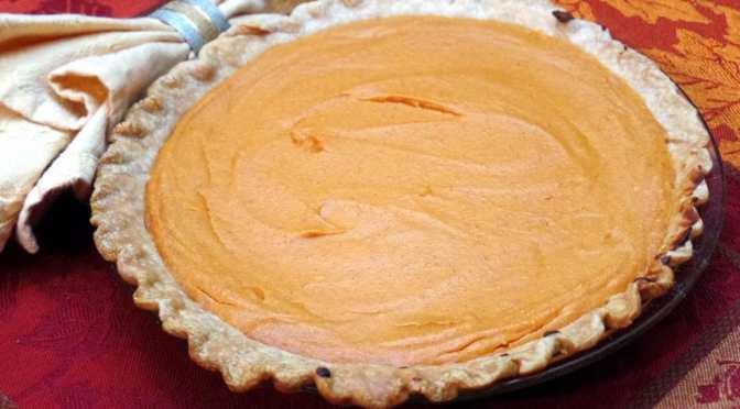 Holiday Sweet Potato Pie