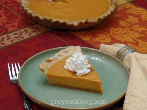 Sweet Potato Pie tabled with whole pie