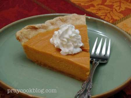 Upclose sweet potato pie single