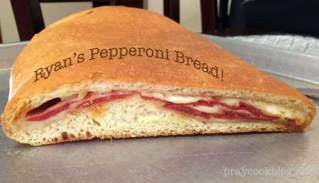 Homemade Pepperoni Bread
