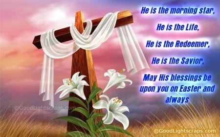 Easter Blessings image Life, Reedeemer, Savior