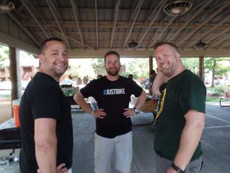 Nick, Cory, and Ryan