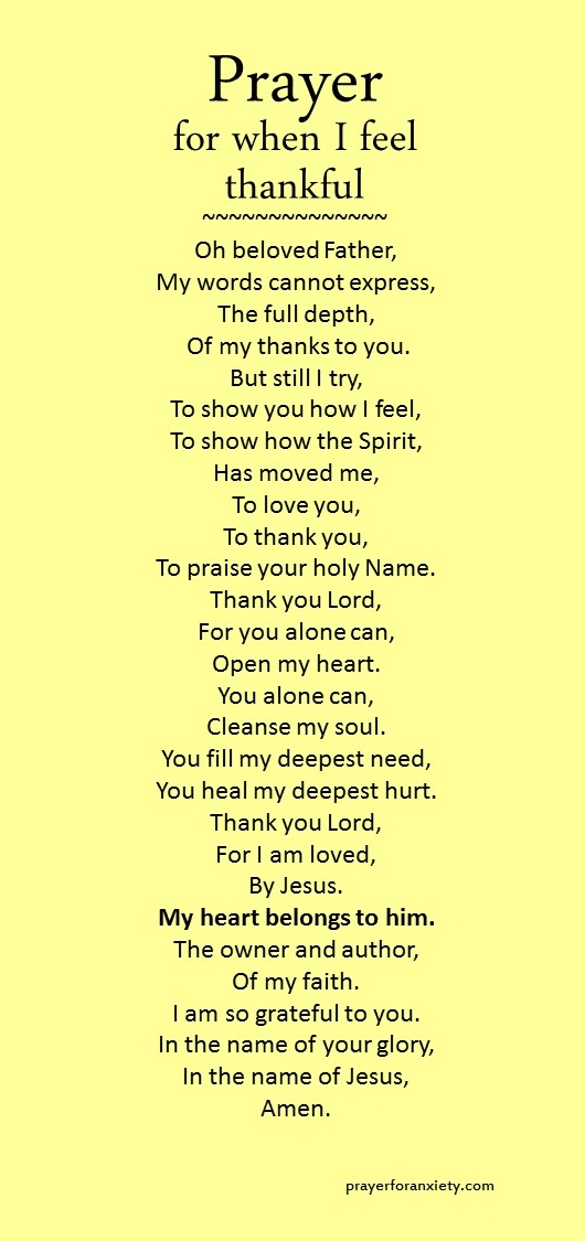 prayer-for-when-i-feel-thankfuljpg (530×1125) Say sumthin - thank you notes sample