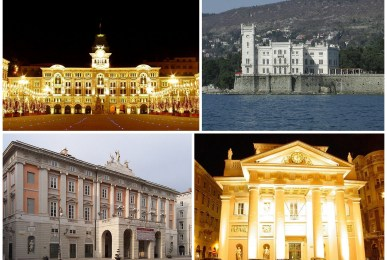 trieste cityscapes