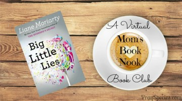 Big Little Lies is Mom's Book Nook Pick for June