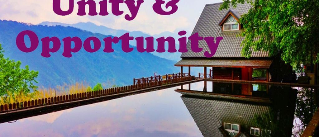 Connecting Opportunity and Unity