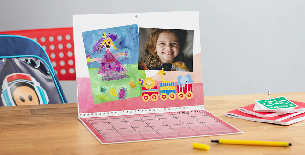 Photo Calendar Personalised Desk  Wall Calendars Snapfish UK