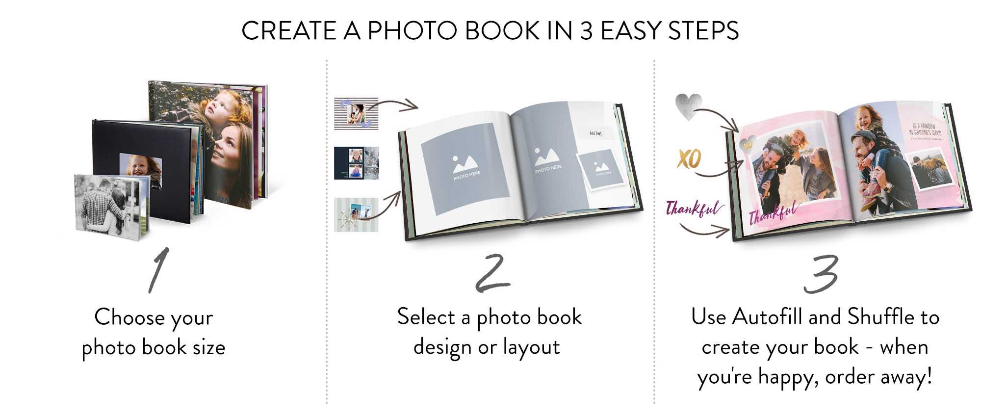 Easy Select Vs Super Select Photo Books Create Your Personalised Photo Album Snapfish Uk