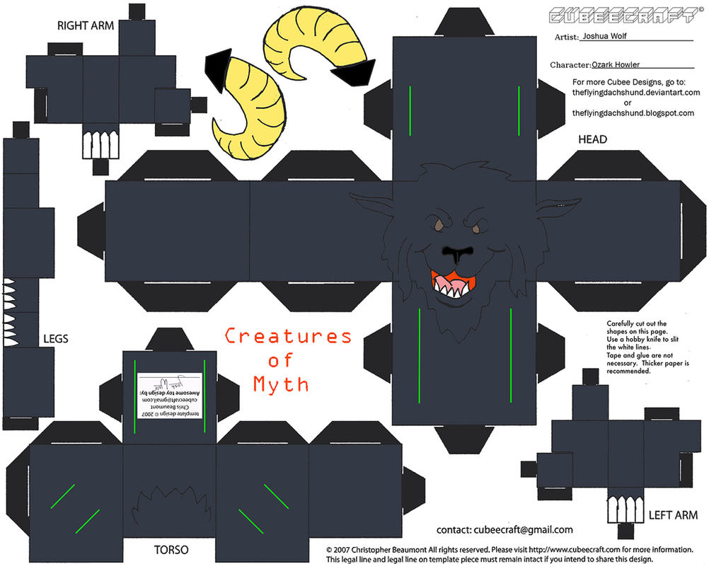 The Simpsons 3d Wallpaper Com5 Ozark Howler Cubee By Theflyingdachshund On Deviantart