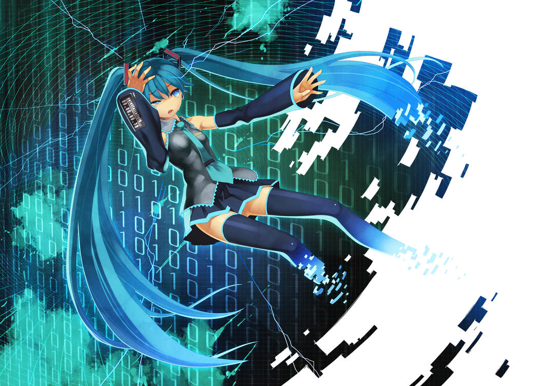 My Girl Wallpaper Disappearance Of Hatsune Miku By Toby4ever On Deviantart