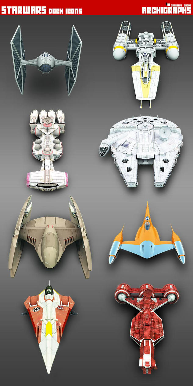 Awesome 3d Art Wallpaper Starwars Vehicles Archigraphs By Cyberella74 On Deviantart