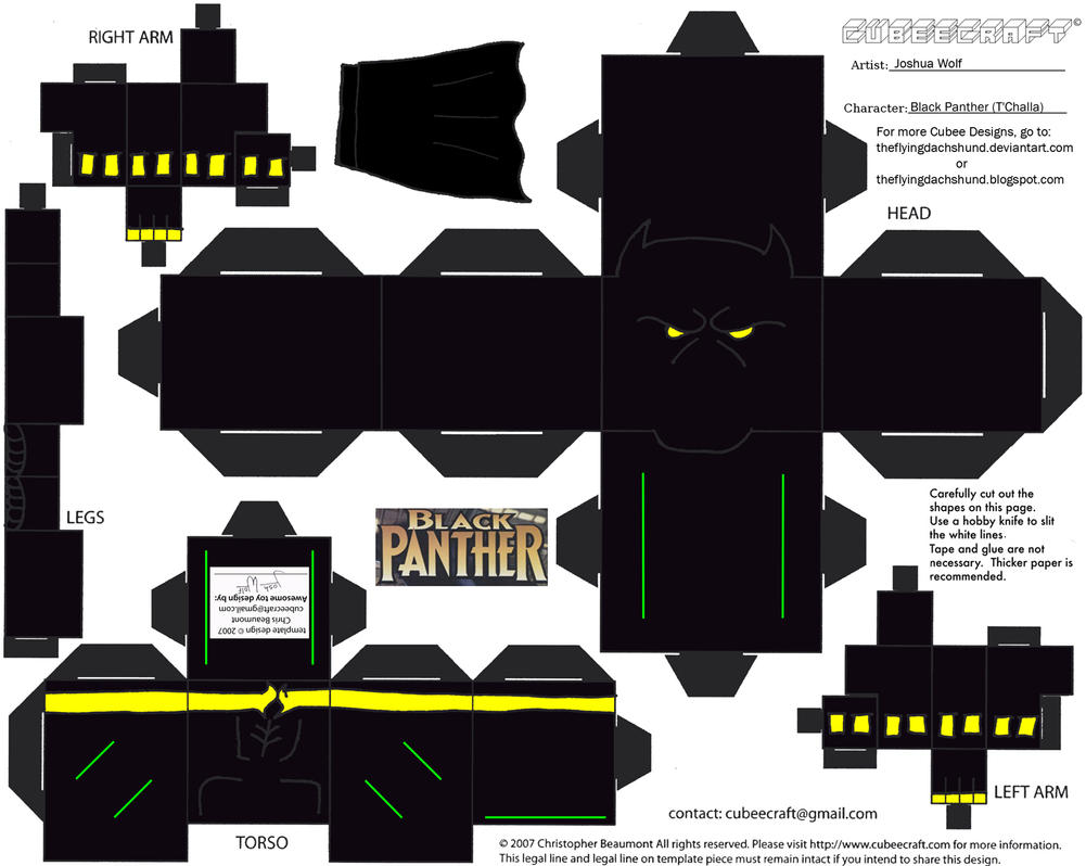 3d Cube Live Wallpaper Download Marvel8 Black Panther Cubee By Theflyingdachshund On