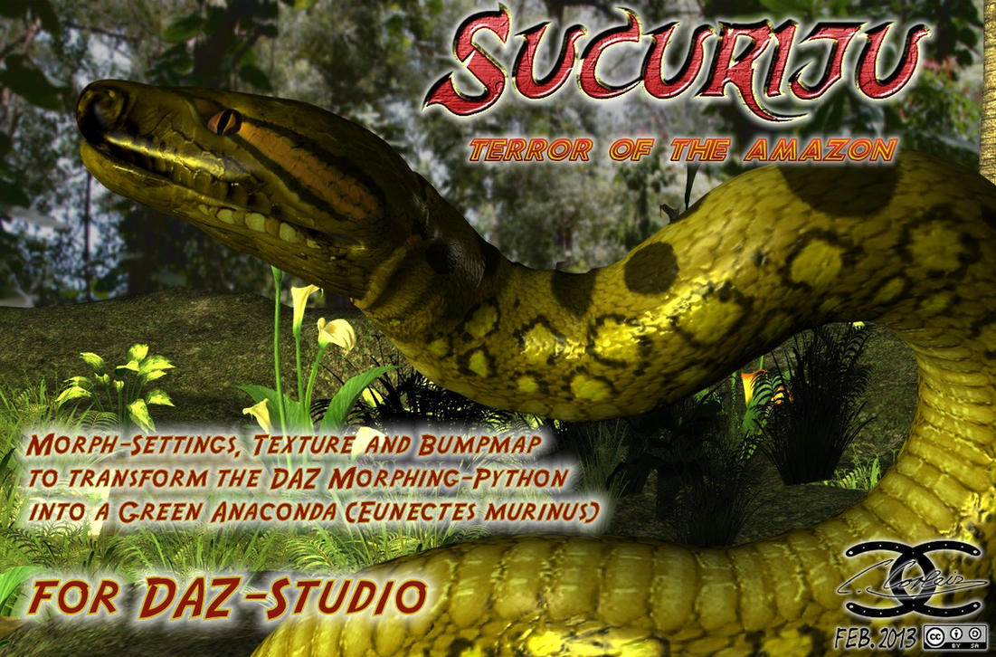 3d Game Wallpaper Anaconda Texture For Daz Morphing Python By Ancestorsrelic