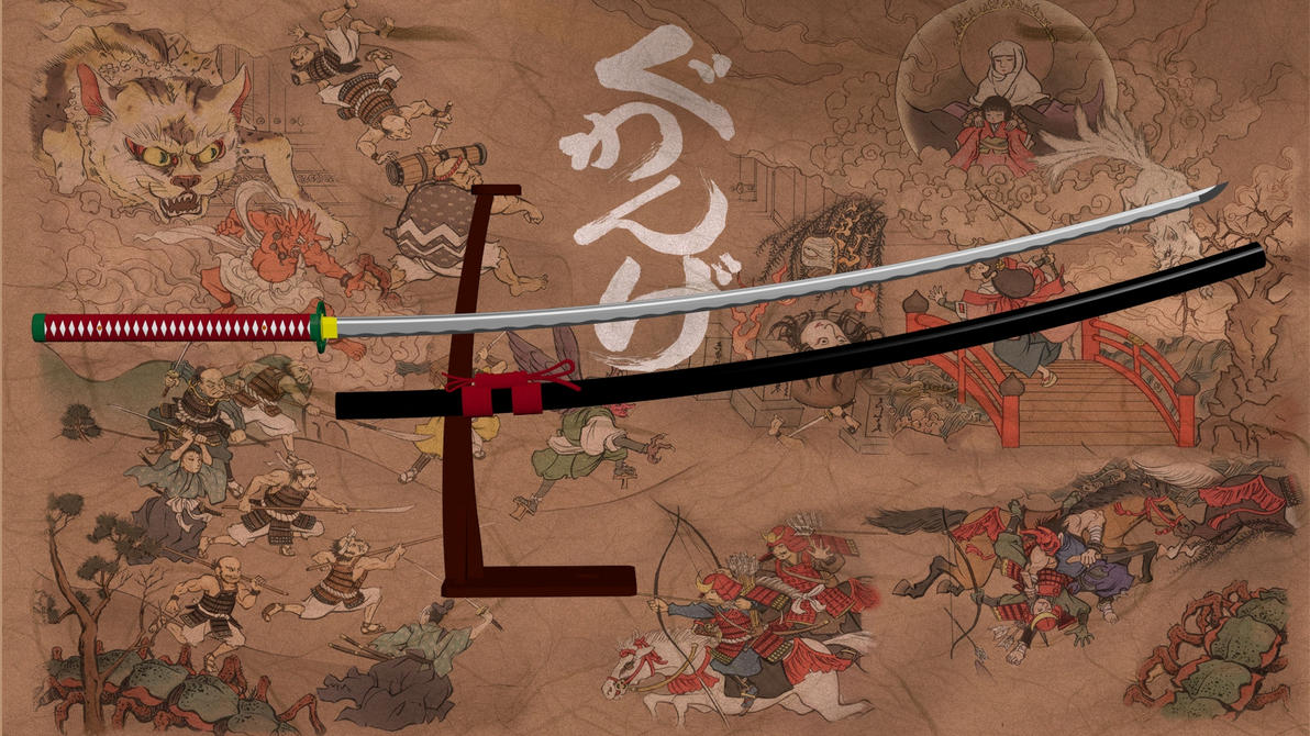 3d Max Wallpaper 3ds Max Release Nodachi Sword W Stand By Aequitas