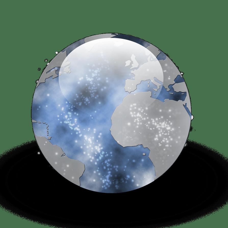 3d Fire Wallpaper Desktop Earth Orb Icon By Pokehkins On Deviantart