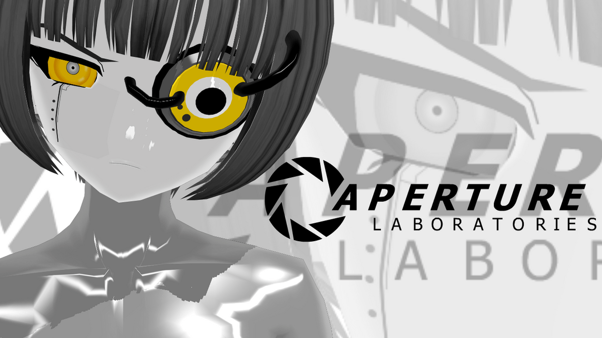 Pretty Anime Girl Wallpaper Glados Mmd Model By Peptos On Deviantart