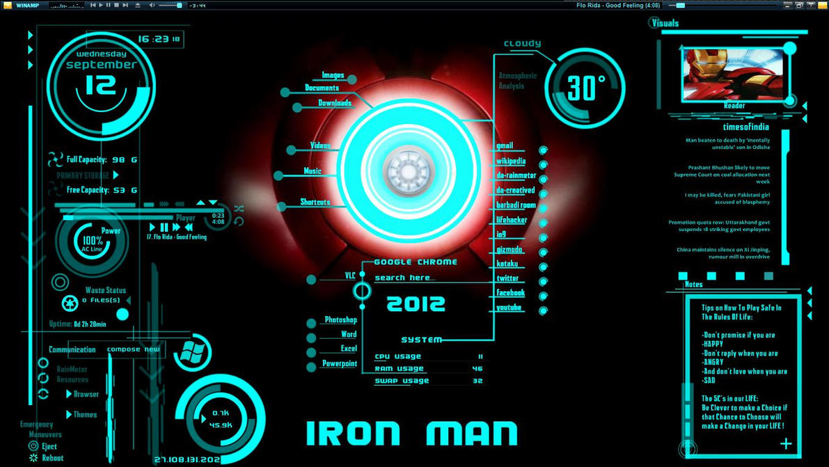 Ironman jarvis theme download by hell999