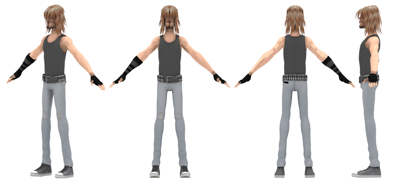 3d Models For Animation Guitar Hero 3 Pc 3d Model Extract For Animation Zenhax