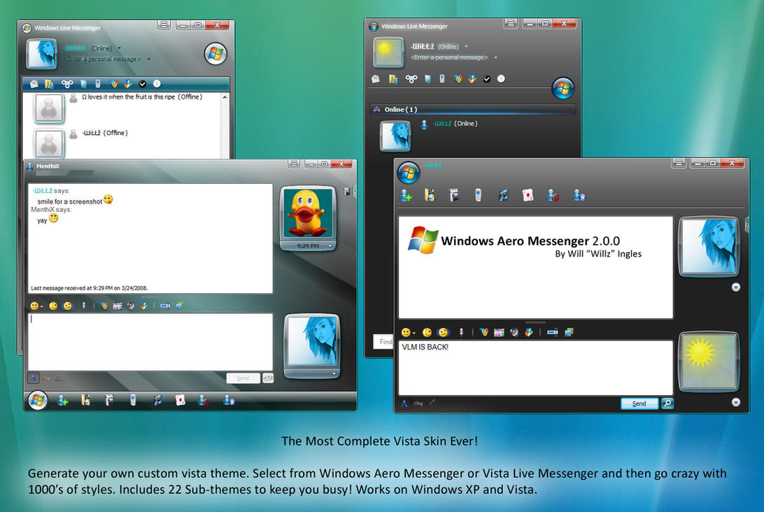Window Live Messenger Vista Live Messenger 8 5 New By Stianu89 On Deviantart