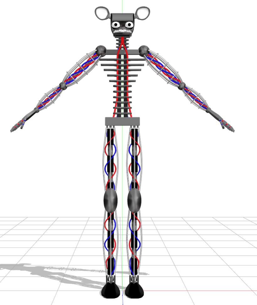 3d Wallpaper Red Blue Endoskeleton Dl By Waltervd On Deviantart