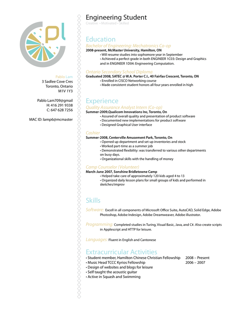 Sample Resume For Embedded Software Engineer Fresher 6 Samples Examples Download