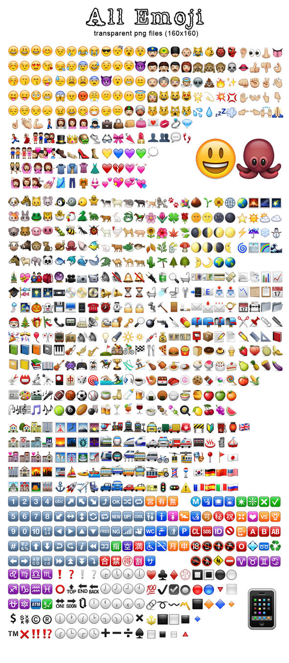 Iphone Wallpaper Icon Template Whatsapp Emoji Collection By Lechuck80 On Deviantart