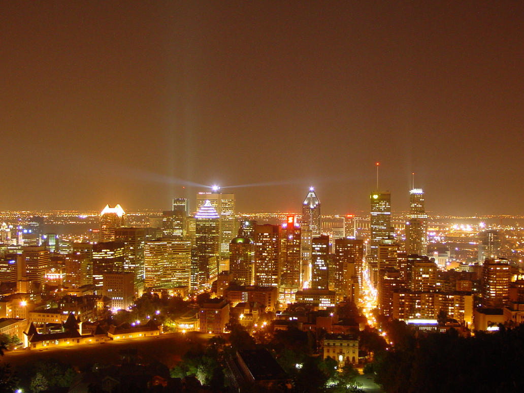 Lights Montreal Montreal City Lights By N8wish On Deviantart