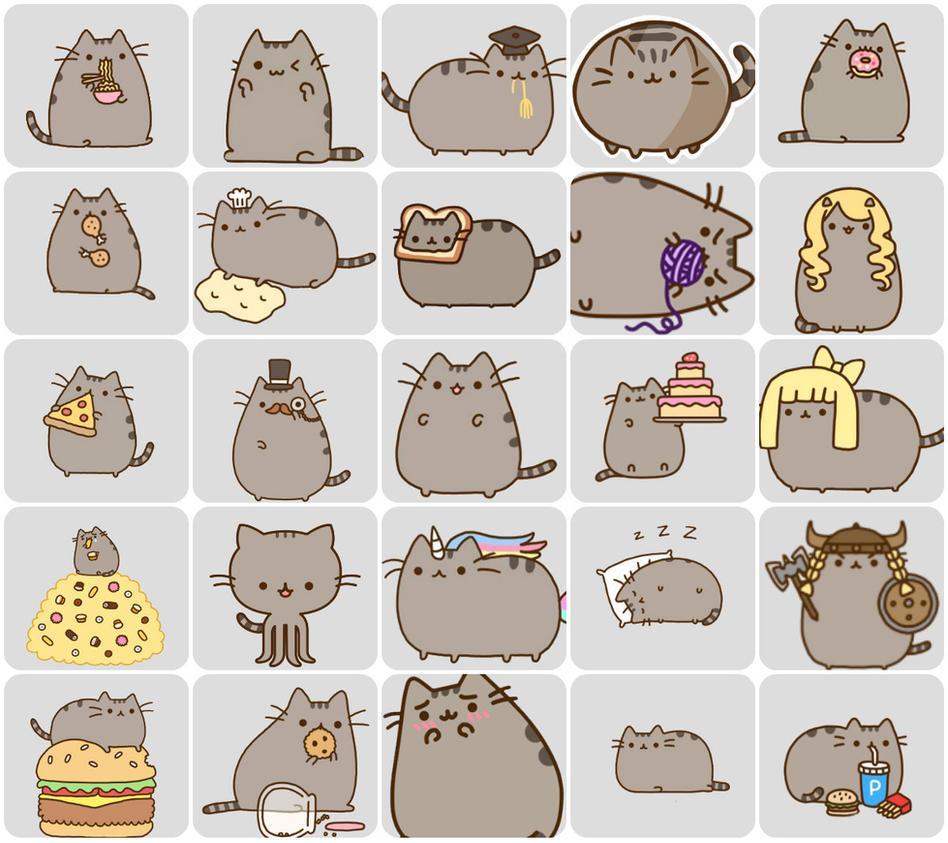 Pusheen Iphone Wallpaper Cute Png Pusheen Cat By Yuukychan137 On Deviantart