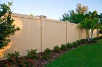 Concrete block or Precast Concrete Fence Walls for the ...