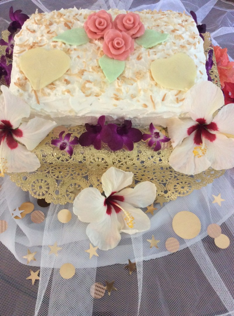 Large Of Hawaiian Wedding Cake