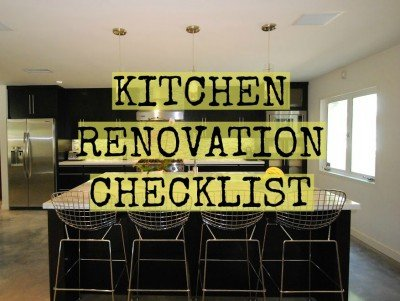 Your Kitchen Renovation Checklist - Construction Blog - Kitchen Renovation Checklist