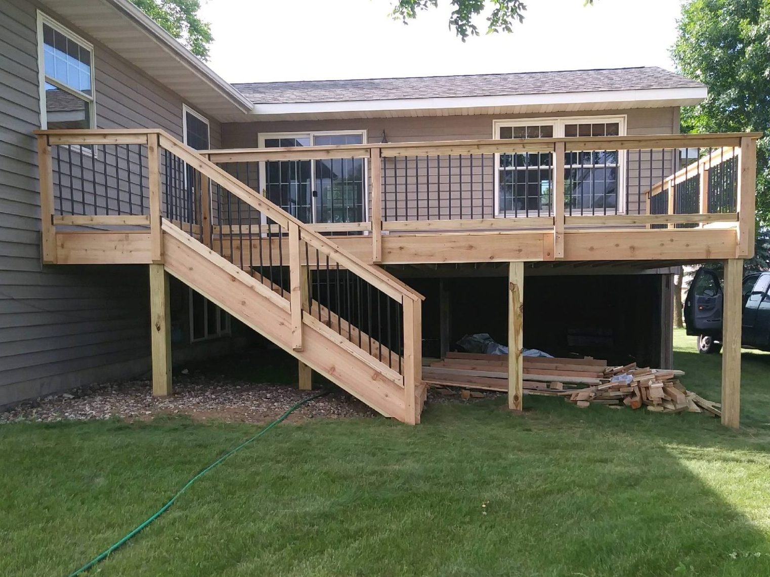 Decking Panels Decks Precision Landscaping Construction Inc