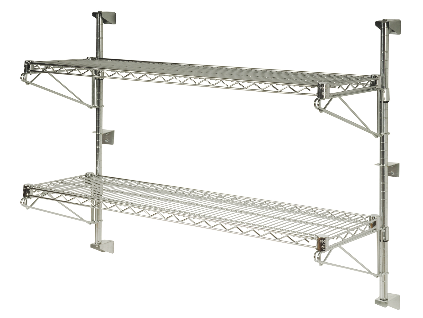 Adjustable Wall Shelf System Wire Shelf Accessories By Omega Products Corporation