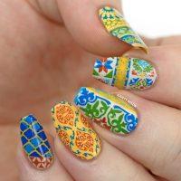 Top 32 Tiles Nail Art Inspirational Design  Preet Kamal
