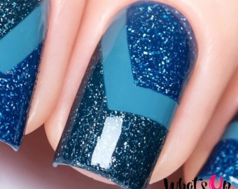 38 Best Chevron Design Nail Art For A New Generation