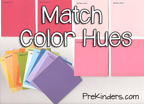 Matching Color Hues With Paint Cards