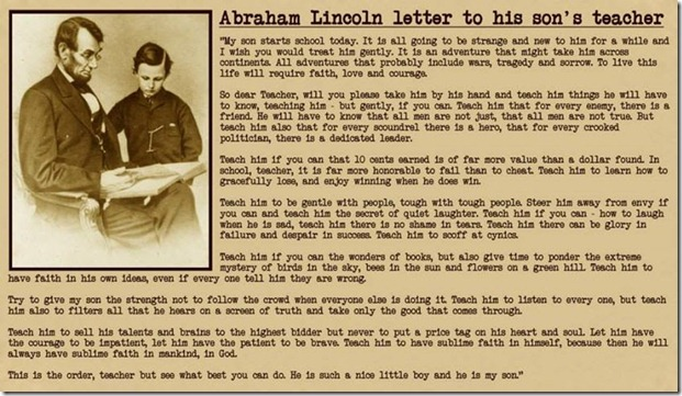 Marathi Wallpapers With Love Quotes Abraham Lincoln Letter To His Son S Teacher Premaseem Me