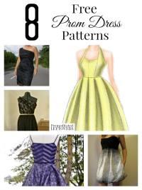 8 Free Prom Dress Patterns
