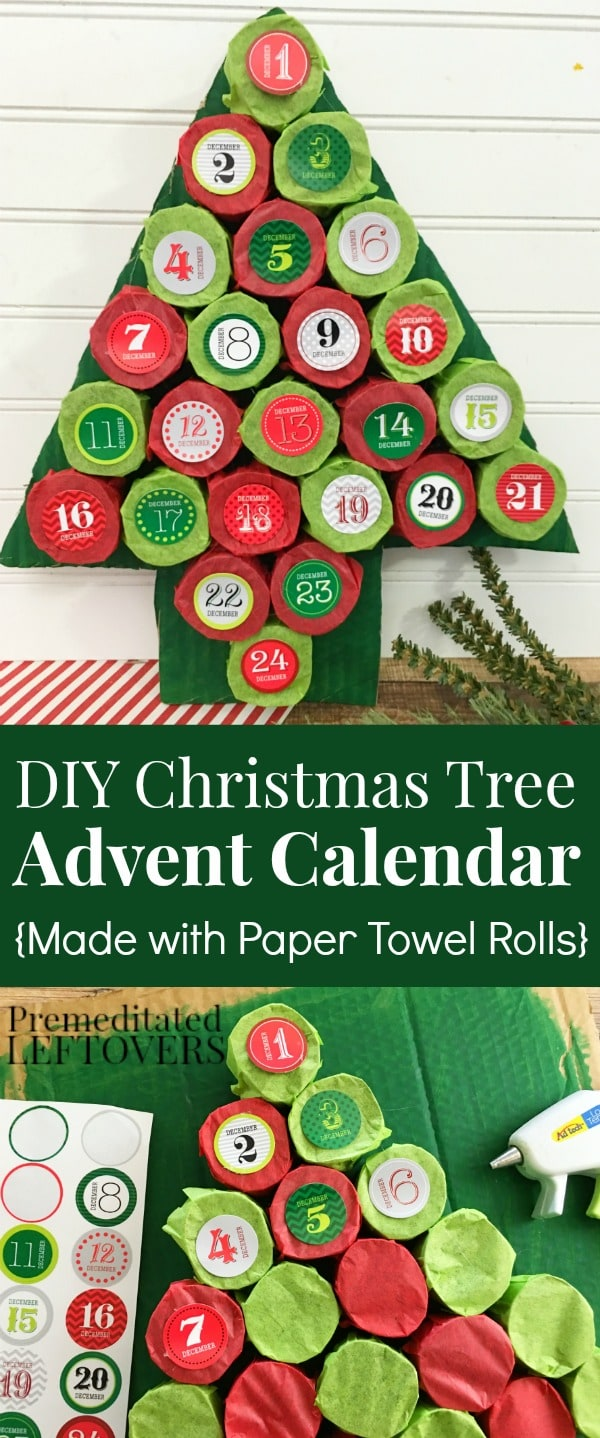 How To Make Your Own Calendar Crafts How To Make Your Own Calendar Savvy Homemade Diy Christmas Tree Advent Calendar Tutorial Using Paper