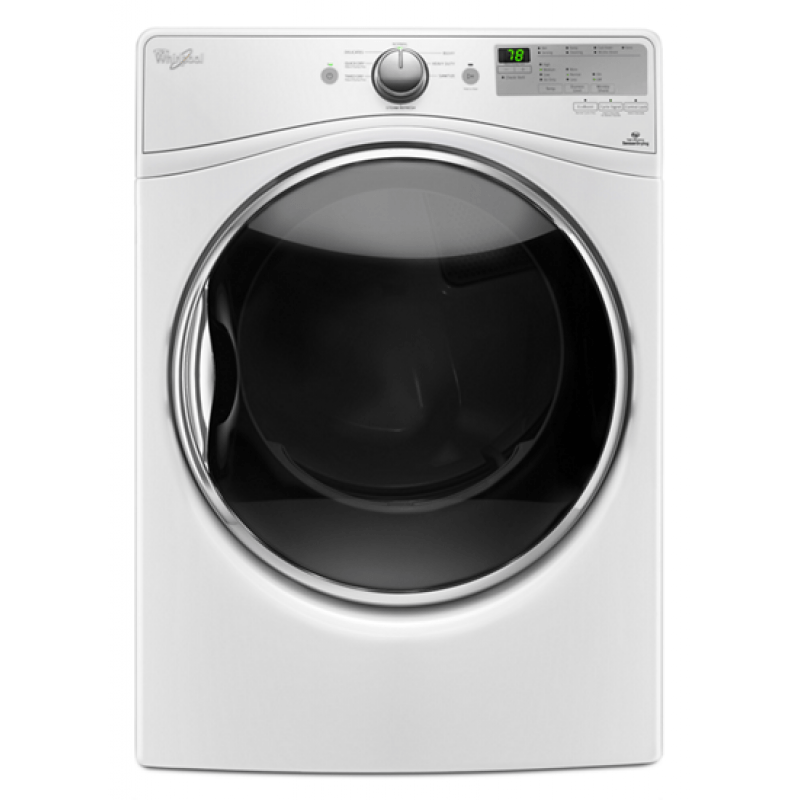 Whirlpool Wgd8540fw 7 4 Cu Ft Stackable Gas Dryer With - Whirlpool Steam Dryer
