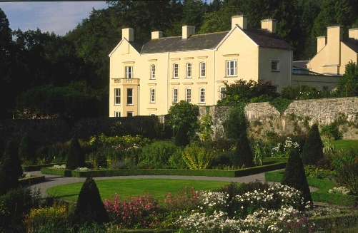 Aberglasney Mansion- Aberglasney Gardens in Carmarthenshire