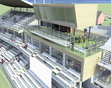 New cricket pavilion in a league of its own