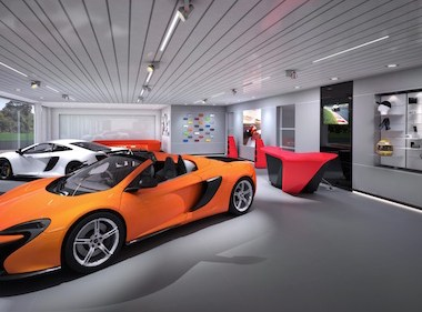 UK's largest McLaren showroom nears completion