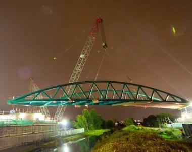 New bridge eliminates major bottleneck