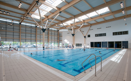 Competition Pool Construction : Health centre has designs on excellence