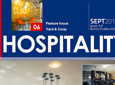 This month in Premier Hospitality Issue 4.9
