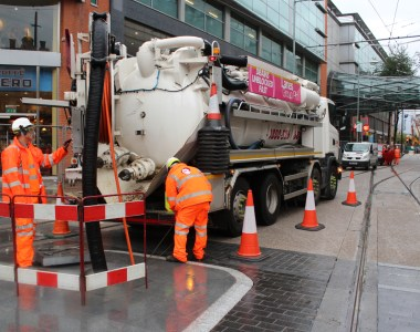 Lanes Group Plots Sewer Route for Manchester's 2CC Tram Line