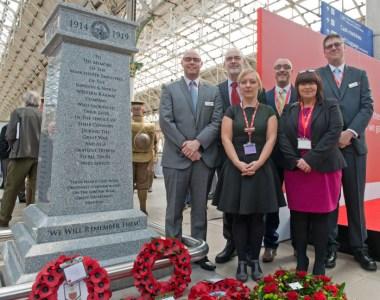 Virgin Trains Remembers Fallen Railwaymen