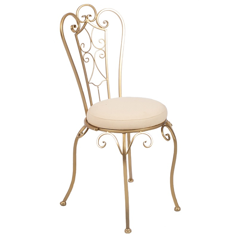 Klappstuhl Garten Metall Gold Metal Garden Chair - Austin Texas - Premiere Events